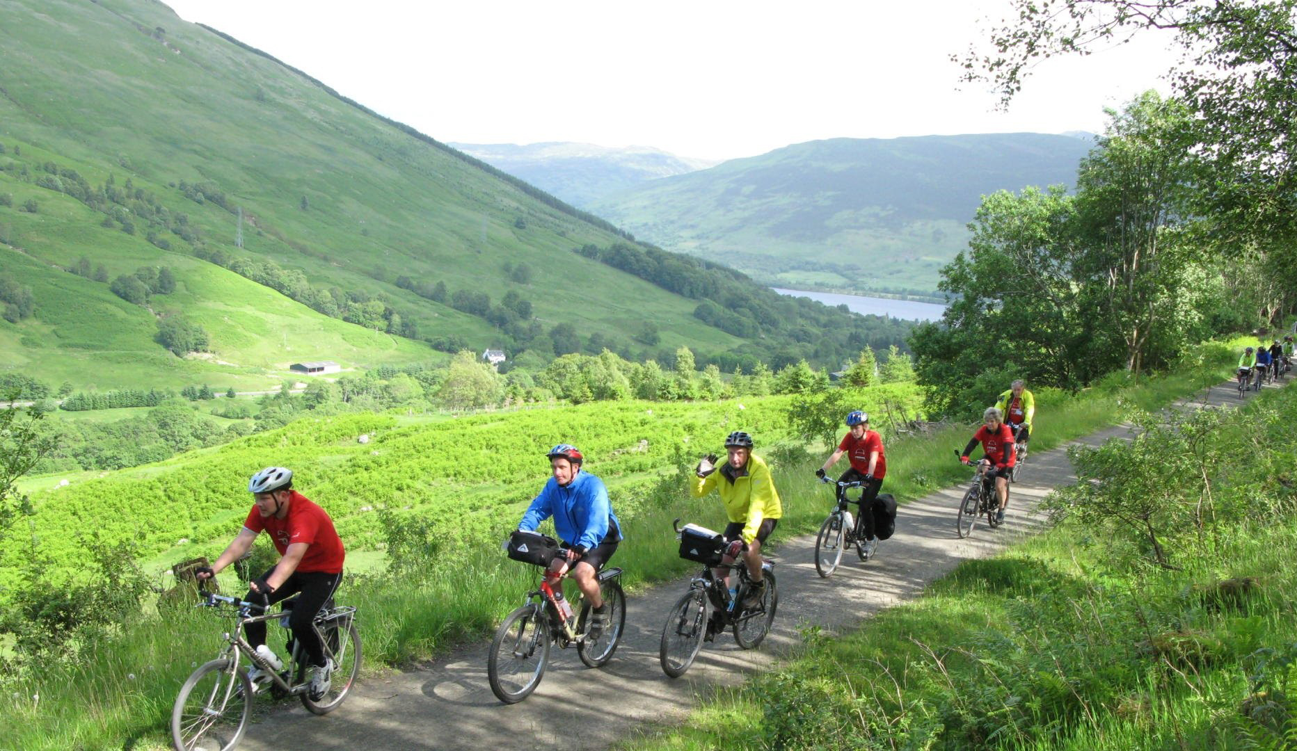 Cycling and Canoeing